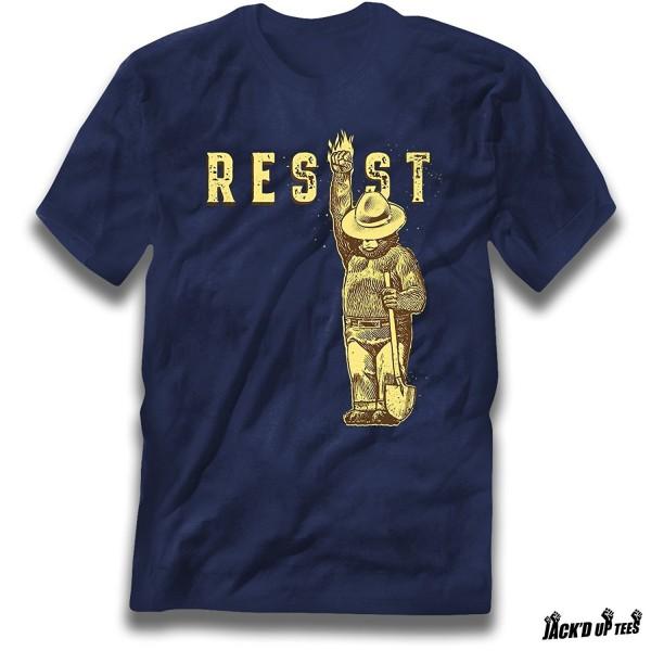 Resist Smokey Bear Premium Tee