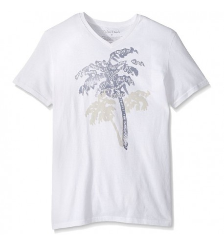 Nautica Sleeve Cotton T Shirt Bright