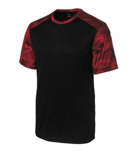 Joes USA CamoHex Athletic Shirt Black