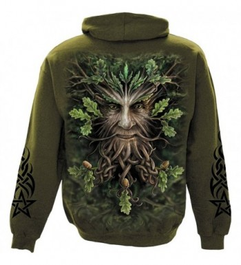 Spiral Mens King Hoody Olive