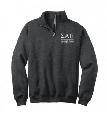 Sigma Epsilon Quarter Pullover Sweatshirt