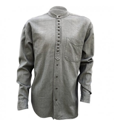 Civilian Irish Grandfather Collarless Shirt