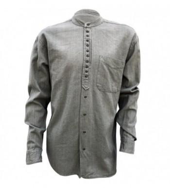 Civilian Irish Grandfather Collarless Shirt