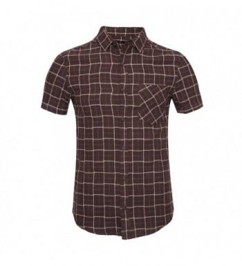Deborri Button Short Sleeve Flannel