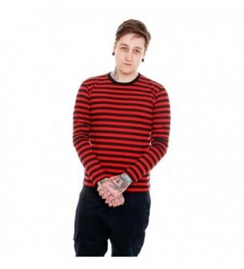 Indie Retro Black Striped Sleeve