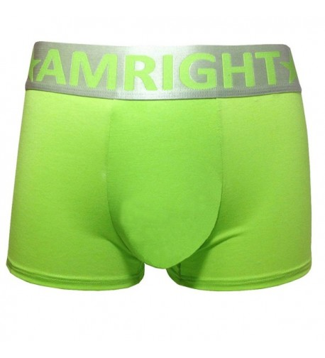Amright Mens Underwear Green XL large