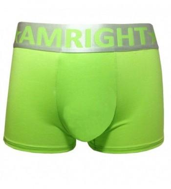 Amright Mens Underwear Green XL large