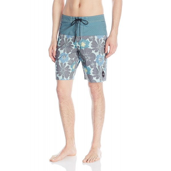 RVCA Mens Ashbury Trunk Pacific