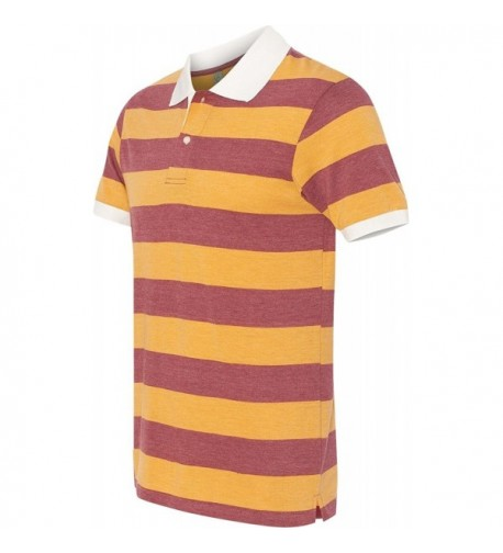 Alternative Sleeve Stripe Burgundy Medium