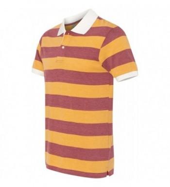 Alternative Sleeve Stripe Burgundy Medium