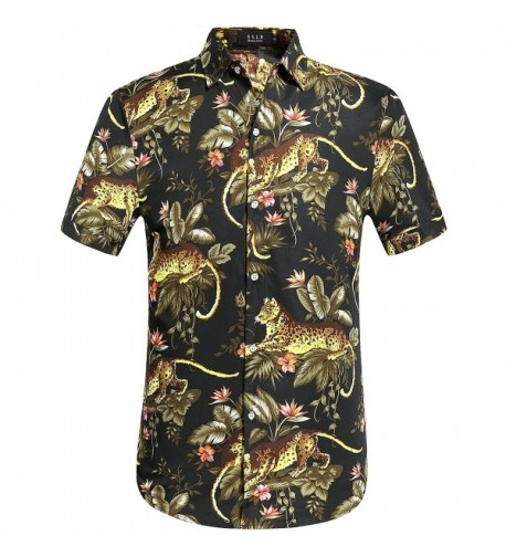 SSLR Prints Button Hawaiian X Large