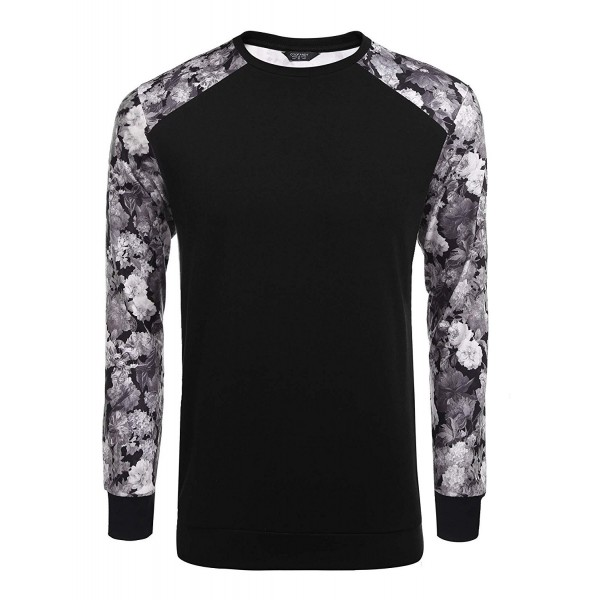 COOFANDY Fashion Baseball T Shirts Sweatshirt