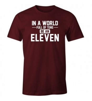 Fantastic Tees World Eleven Maroon