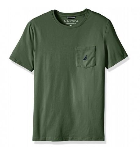 Nautica Sleeve Pocket T Shirt XX Large