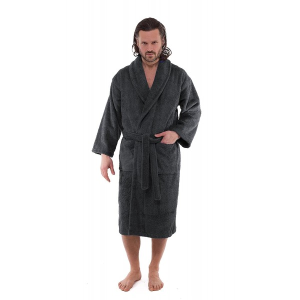 SALBAKOS Luxury Terry Cloth Bathrobe