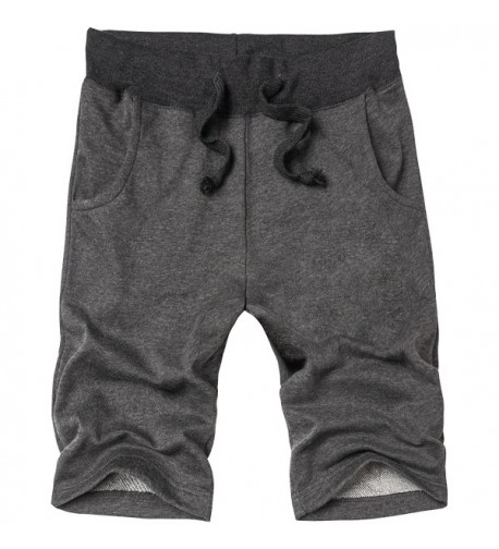 HENGAO Drawstring Jogger Athletic Shorts