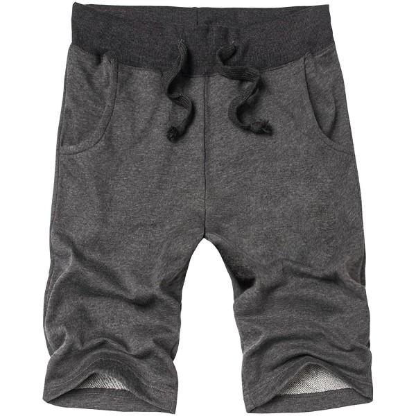 HENGAO Drawstring Jogger Athletic Shorts