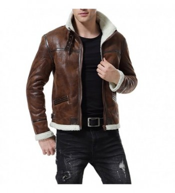Discount Men's Faux Leather Jackets Online