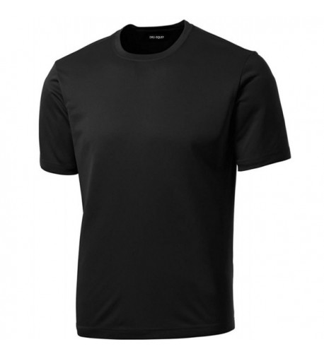 Dri EQUIP Moisture Wicking Running Shirt Black L
