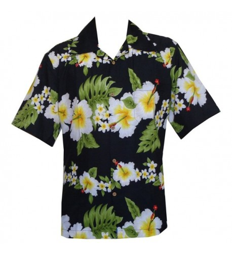 Hawaiian Shirts Hibiscus Floral Across