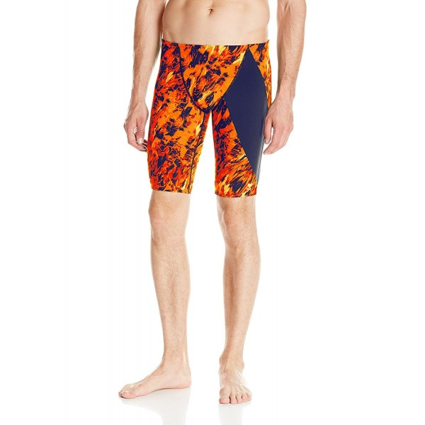 TYR Glisade Diverge Jammer Orange