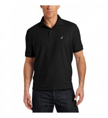 Nautica Mens Solid Shirt Black