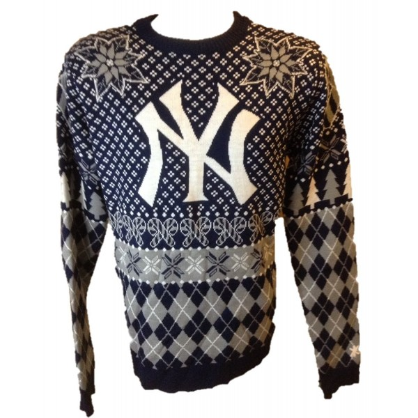 MLB Logo Yankees Crew Sweater