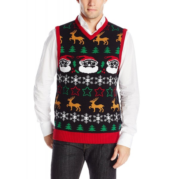 Ugly Christmas Sweater Black Medium