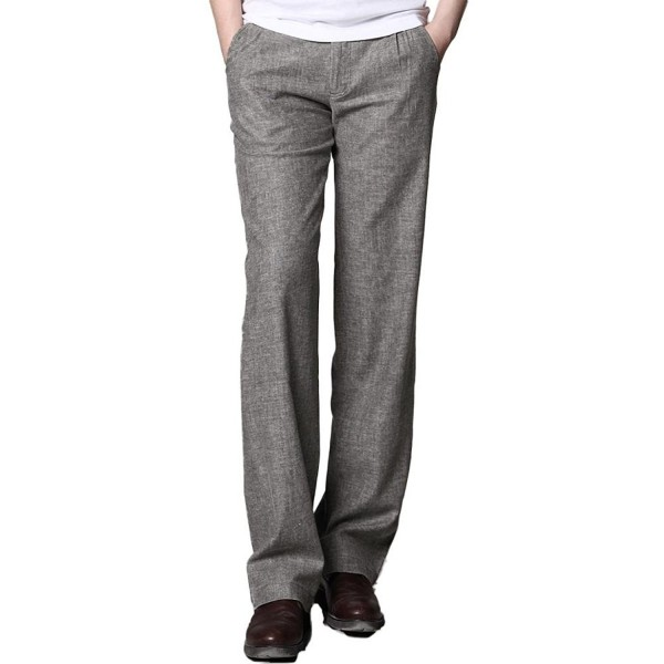 MARKLESS Summer Straight Commercial Trousers