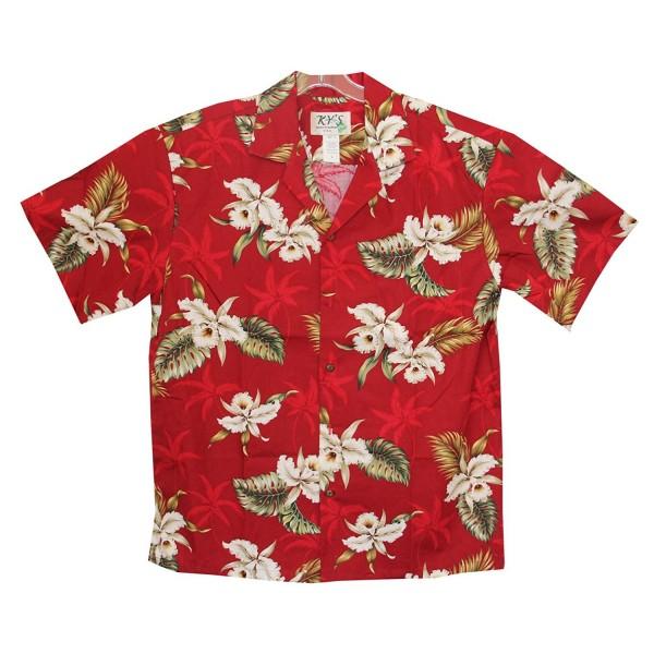 Orchid Flowers Hawaiian Aloha Shirt