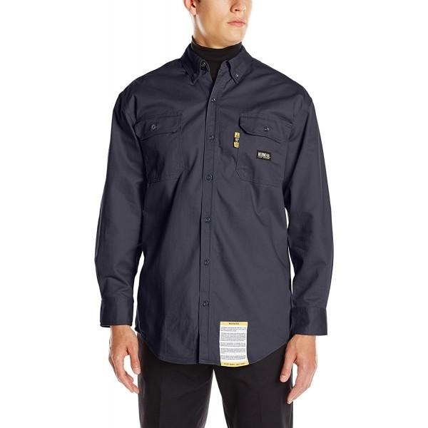 Berne Mens Button Shirt X Large