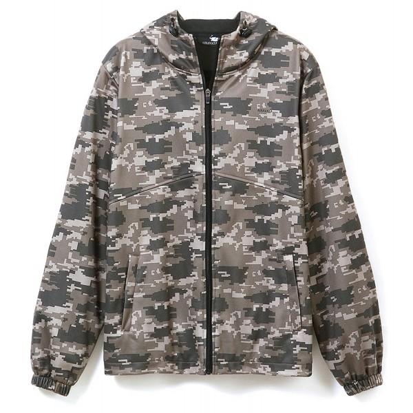 Hsumonre Hoodies Sweatshirts Jackets Multifunctional