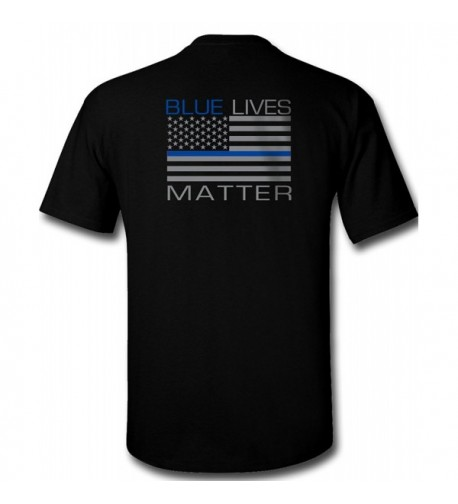 Blue Lives Matter T Shirt Large