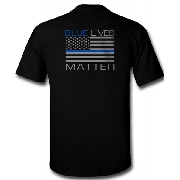 Blue Lives Matter T Shirt Large
