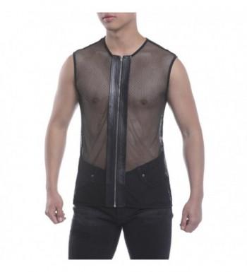 HEQU Zipper Sleeveless See Through Clubwear