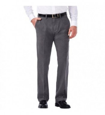 Haggar Clothing Sustainable Straight Charcoal