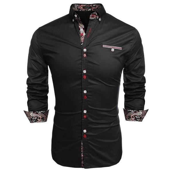 Simbama Dress Casual Button Shirts