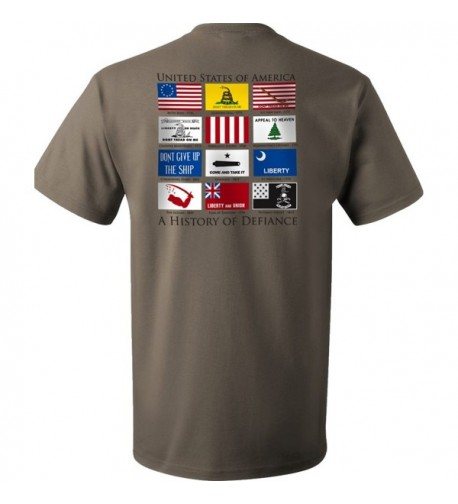 Flags Defiance T Shirt Sage XL