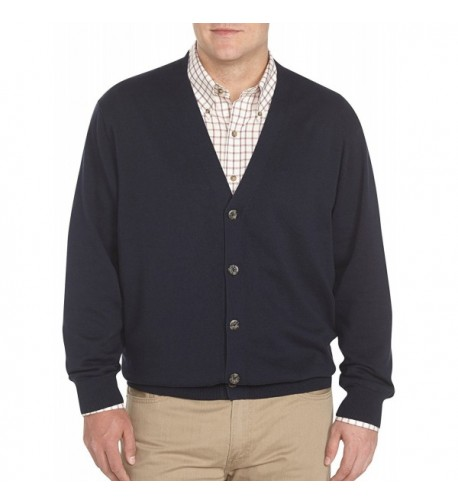 Harbor Bay V Neck Cardigan Midnight