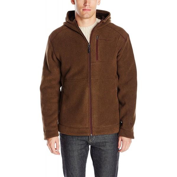 White Sierra Sherpa Hooded Jacket