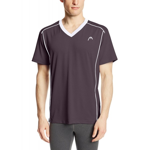 HEAD Matrix V Neck Asphalt Medium