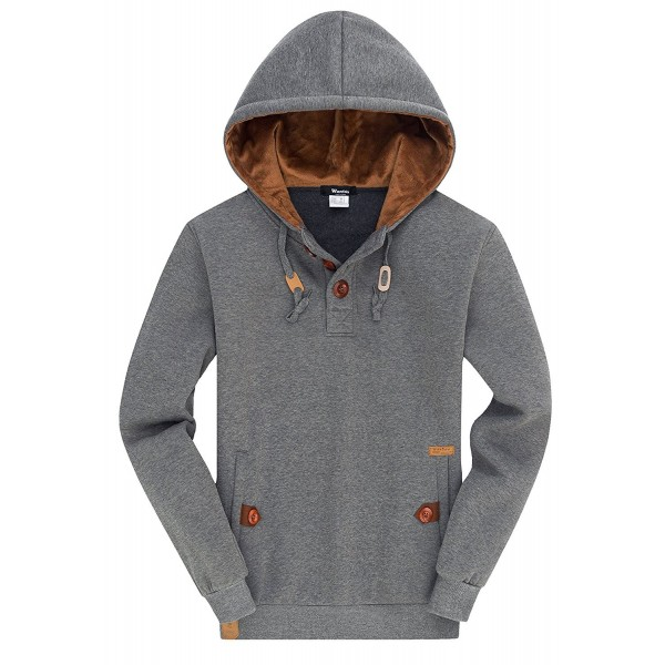 Wantdo Spring Pullover Hoodies Comfortable