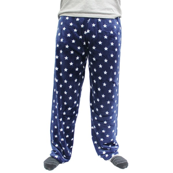 Mens Soft Plush Pajama Pants