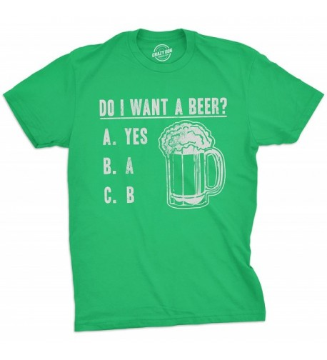 Crazy Dog T Shirts Patricks Drinking