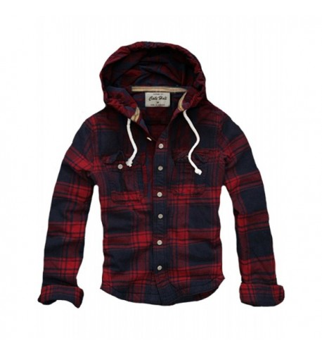 CALI HOLI Muscle Checked Flannel