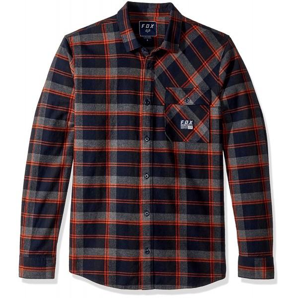 Fox Mens Drezzy Flannel Midnight
