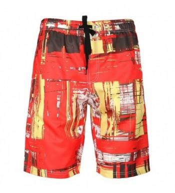 Lightweight Beach Shorts Pants Pockets