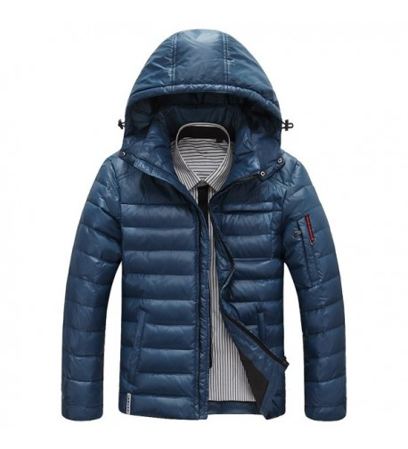 RongYue Winter Jacket Quilted Removable