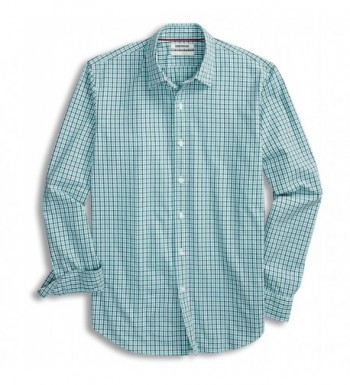 Goodthreads Standard Fit Long Sleeve Micro Check Gingham