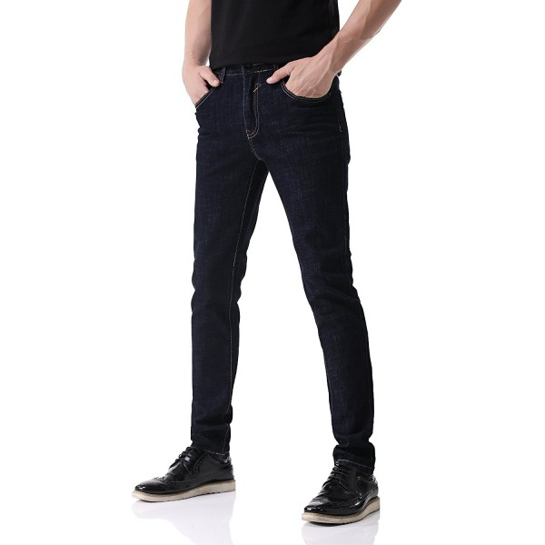 bce95652e D-02 Men's Classic 5-Pocket Jeans Regular-Fit Straight Leg Denim ...